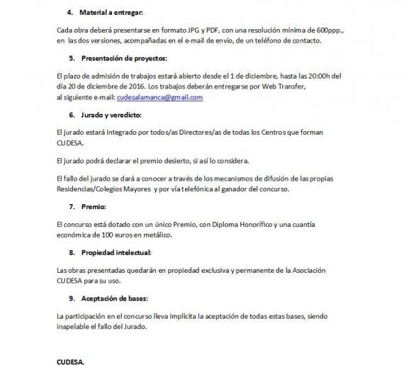 Concurso para la actualización del logotipo de CUDESA