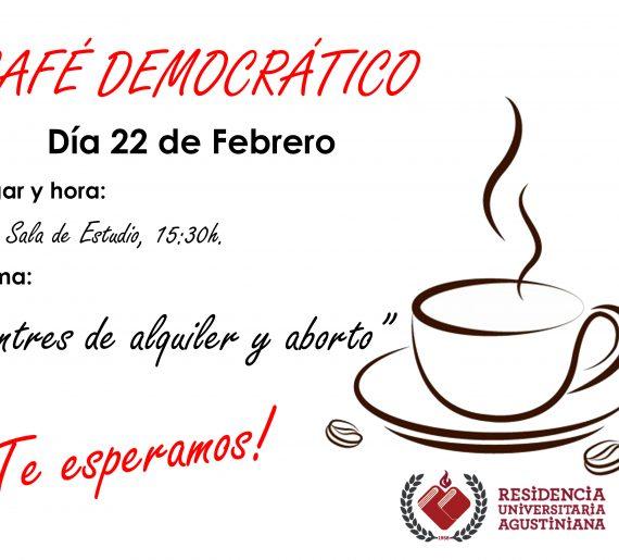 CAFÉ DEMOCRÁTICO